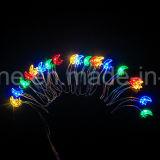 Mond-Stern-Zeichenkette beleuchtet 20 LED-Weihnachtslichter mit hellem Fühler für die Hauptverzierung