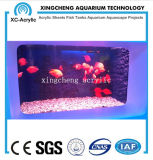 Precio de acrílico transparente modificado para requisitos particulares del proyecto del tarro de los pescados