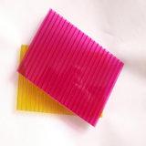 Feuille de cavité de polycarbonate de résistance aux chocs de poids léger pour la lumière de ciel
