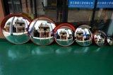 Parkender konvexer Weitwinkelspiegel