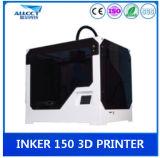 Het grote Geheel die van de Desktop van de Bouw van de Grootte 3D Printer van de Precisie van 0.1mm verzegelen