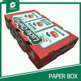 高品質の耐久のボール紙の野菜のフルーツの包装ボックス