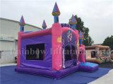 Gorila divertida inflable que salta el castillo congelado, castillo congelado inflable