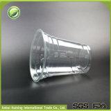14ozふたおよびロゴの使い捨て可能なプラスチック泡ティーカップ