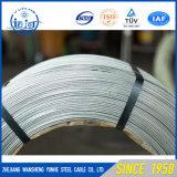 低炭素の鋼線の熱い浸された電流を通された鉄ワイヤー(BWG4-BWG36)