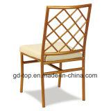 椅子を食事する新しいホテルの鋼鉄宴会