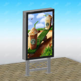 Figura di Retangle e casella chiara di pubblicità solare materiale di alluminio o d'acciaio