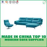 現代オフィス用家具の本革のソファーセット
