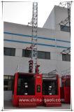 Alzamiento eléctrico de la construcción de la jaula del doble de la frecuencia de Gaoli para la venta Scq120/120