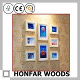 Blocco per grafici di legno classico della foto del Brown per la decorazione interna