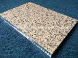 Comitati di alluminio preverniciati del favo di colore di pietra per le facciate della parete