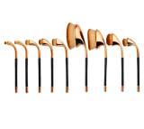 El Blusher cosmético del polvo de cara personalizó el cepillo oval del maquillaje del golf