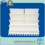 Courroies modulaires en plastique du réseau 800 affleurants
