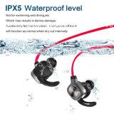 Fones de ouvido e auriculares de pouco peso de Sweatproof