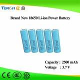 Volle Kapazitäts-guter Preis 3.7V 2500mAh Li-Ion18650 Batterie-Hersteller