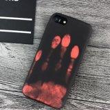온도 열 과민한 색깔 iPhone 7을%s 변화 전화 상자