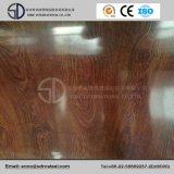 Il reticolo di legno ha progettato il grano d'acciaio preverniciato PPGI della bobina