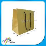 Saco de compra branco do saco do presente do saco do papel de embalagem do Feliz Natal