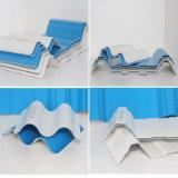 Prix ondulé de feuille de toiture de PC d'espace libre en plastique de produit