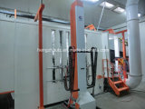 Cadena de producción automática de la capa de aerosol de polvo del polvo semiautomático