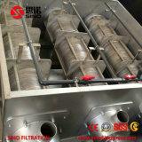Imprensa de secagem do filtro roscado do sistema da lama popular