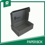泡の挿入&ndashが付いている黒い波形のフルートのボード(ないプラスチック); 詰まる平たい箱