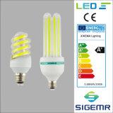 Nuova lampada economizzatrice d'energia a spirale 5W 7W 9W 12W 16W 20W 24W 32W della PANNOCCHIA LED