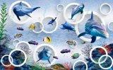 Mattonelle della parete della priorità bassa di disegno dell'oceano di alta qualità di Foshan nuove (VPA6A115)