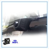 Lente de câmera cheia auto Dashcam de HD dois com carro DVR