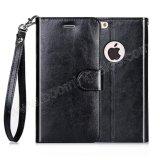 случай бумажника крышки PU кожи телефона iPhone 7 оптовый защитный