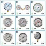 006ステンレス鋼が付いている液体のオイルの満たされた圧力計の圧力計