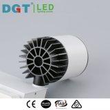 よい熱のアルミニウム天井LEDはトラック穂軸レンズTracklightをスポットライトで照らす