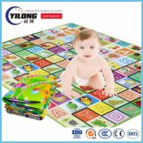 Estera plástica del juego del bebé de la venta al por mayor 2017 de los juguetes de la espuma del cabrito educativo de las esteras para el aprendizaje de Lanuguage