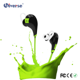 Nuovo Nizza stile impermeabile e trasduttore auricolare stereo Earbuds di Bluetooth di sport di Sweatproof