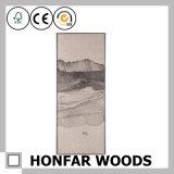 Traditioneller Landschaftswand-Kunst-Farbanstrich im hölzernen Rahmen