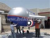 巨大で膨脹可能なヘリウムの飛行機、PVC膨脹可能で平らな飛行船の航空機K7102