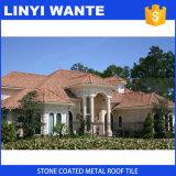 Tetto rivestito del metallo della pietra di alta qualità per la villa
