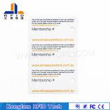 Carte d'adhésion RFID PVC PVC à laminage personnalisé