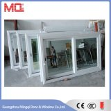 Janela de vidro deslizante de janela de alumínio Janela de vidro duplo