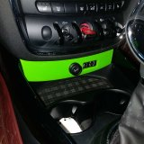 Tampa protegida UV material do USB do estilo da cor verde do ABS brandnew para o Clubman F54 de Mini Cooper (1PC/Set)