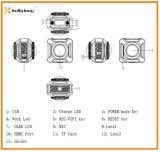 Камера действия 360 Vr объектива WiFi беспроволочная двойная, камера 360, камера действия 360 градусов панорамная