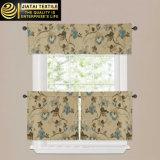 Reticoli della finestra delle tende della cucina di verde di alta qualità del poliestere