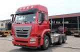 Cabeça do trator do caminhão de Sinotruk Hohan 6*4tratora