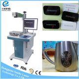 Máquina do gravador da marcação do laser da fibra para o padrão de Eurapean da idéia da empresa de pequeno porte