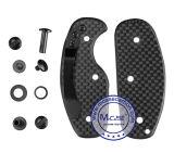 Sostenedor elegante de lujo compacto portable múltiple de encargo del clave de la fibra del carbón