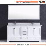 Gabinete T9311-72W da vaidade do banheiro da madeira contínua