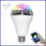 LED 지능적인 무선 Bluetooth 스피커 전구