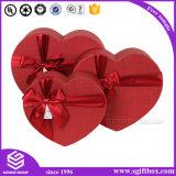 Шикарная серьга косметики ювелирных изделий бумажной коробки сердца упаковывая