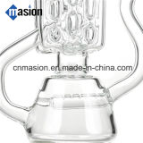 Tubo di vetro di disegno del riciclatore piacevole di qualità per il fumo (EY002)