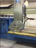 Xzqq625A sah Laser-Ausschnitt-Maschine mit ' das Gehren 45, das für Granit-Marmor-Fliese-Platte geschnitten wurde